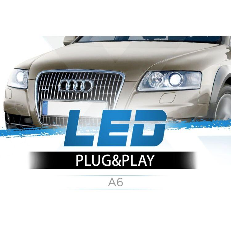 <p>2x volte pi&ugrave; Luce su Audi A6. Pi&ugrave; profondit&agrave; visiva. Zero rischi col Tergicristalli. Completamente Plug&amp;Play.&nbsp;</p>