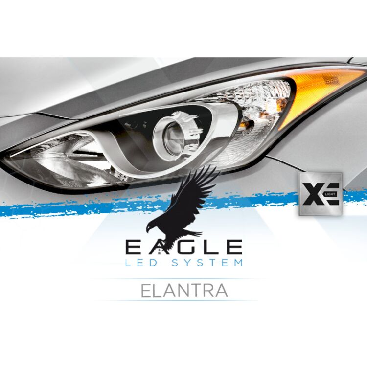 <p>Forget bulb adaptors: this Eagle Kit is custom made to fit your Elantra as it was an OEM part.</p>