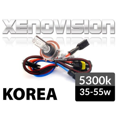 XENOVISION Focus PRO 5300k H7 lamp. Super pure gas mixture without addition of inert gases (dyes) - PROFESSIONAL hid lamp of the highest quality, made and guaranteed by Xenovision.