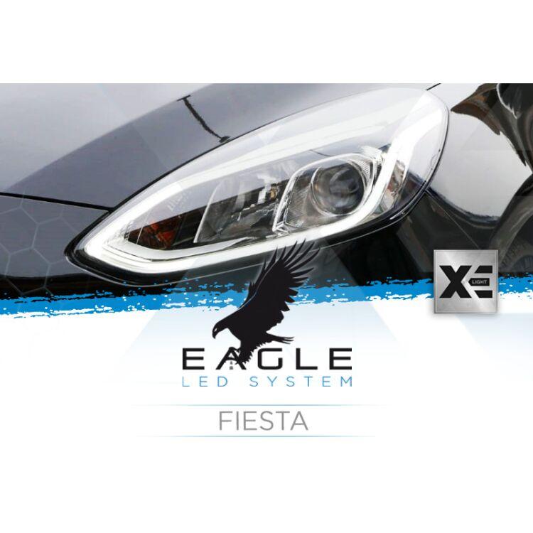 <p>Il Kit XE Light modello Eagle LED System studiato da Xenovision.it per la tua Fiesta.</p>