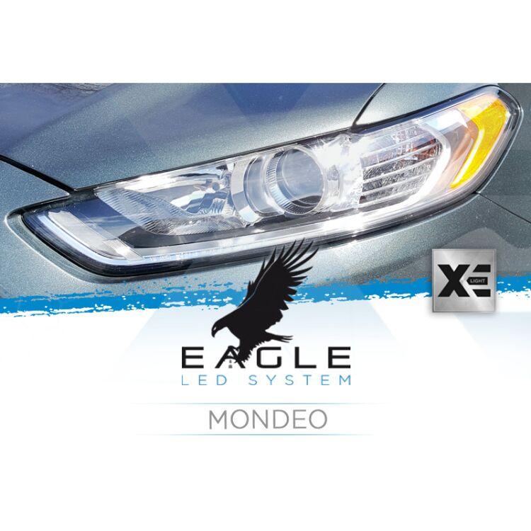 <p>Il Kit XE Light modello Eagle LED System studiato da Xenovision.it per la tua Ford Mondeo 2017 in poi.</p>