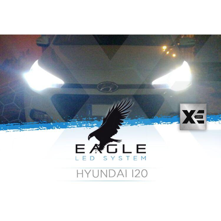 <p>Il Kit XE Light modello Eagle LED System studiato da Xenovision.it per la tua Hyundai I20 dal 2014 in poi.</p>