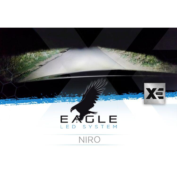 <p>Il Kit XE Light modello Eagle LED System studiato da Xenovision.it per la tua Niro.</p>