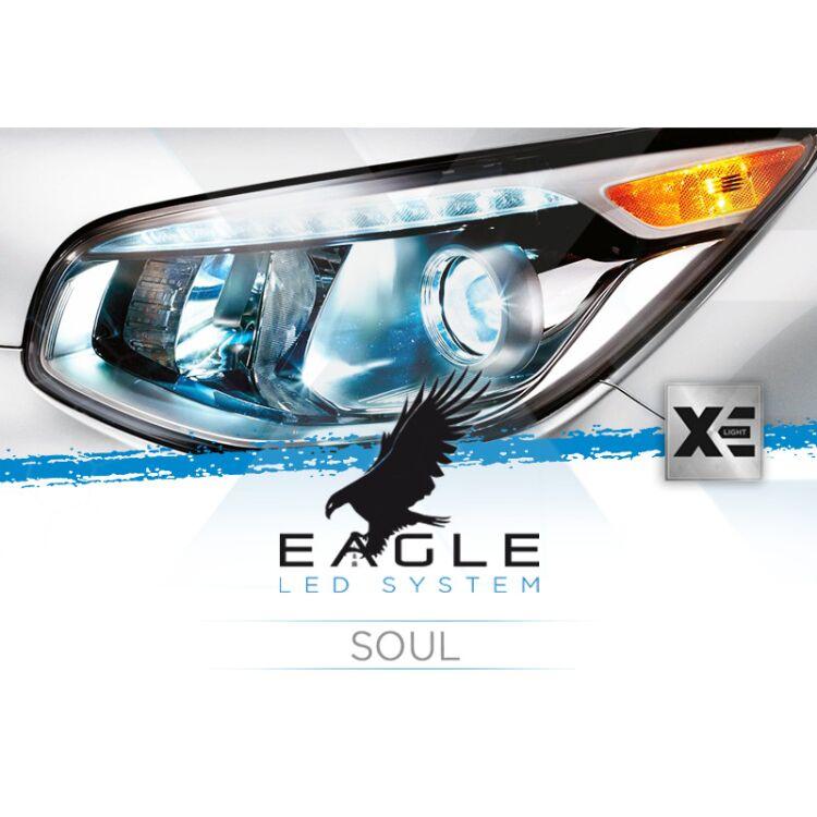 <p>Il Kit XE Light modello Eagle LED System studiato da Xenovision.it per la tua Kia Soul.</p>