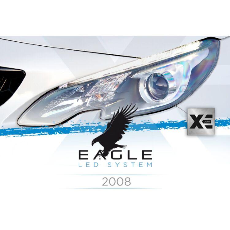 <p>Il Kit XE Light modello Eagle LED System studiato da Xenovision.it per la tua Peugeot 2008 dal 2013 in poi.</p>