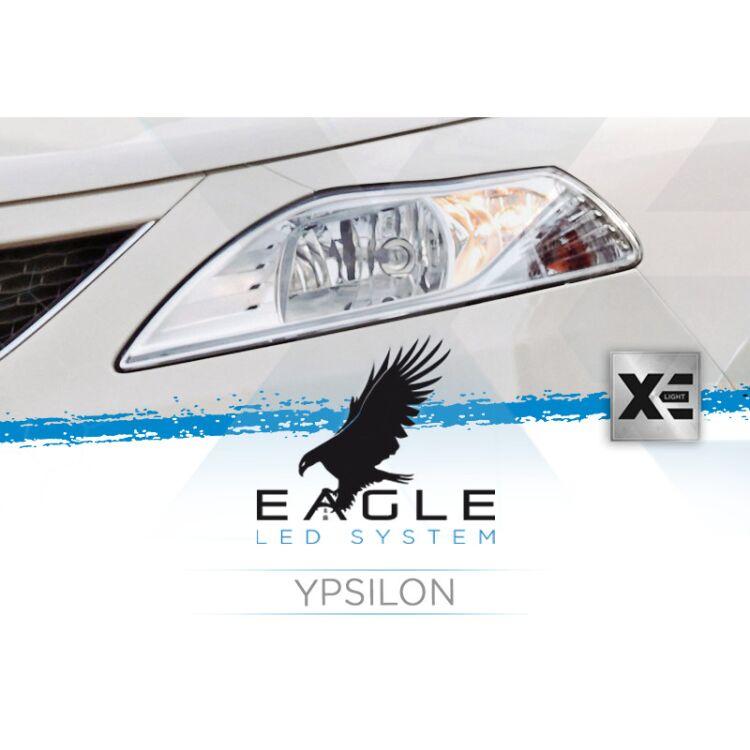 <p>Il Kit XE Light modello Eagle LED System studiato da Xenovision.it per la tua Lancia Ypsilon.</p>