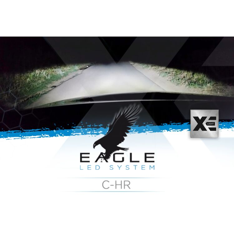 <p>Il Kit XE Light modello Eagle LED System studiato da Xenovision.it per la tua C-HR Lenticolare.</p>