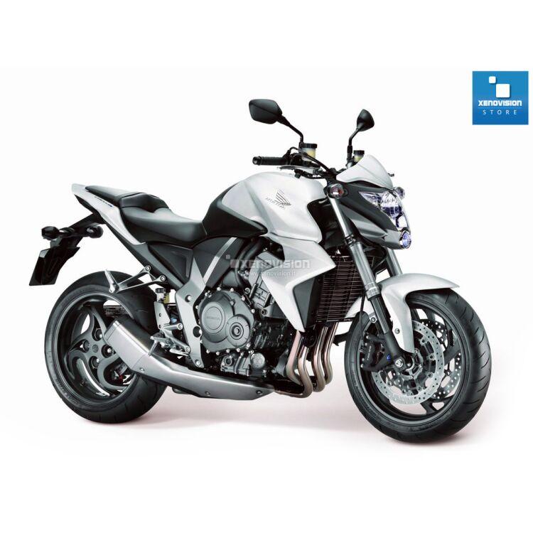 <p>Kit Bixenon Honda CB1000R dal 2008 in poi, 6000k 35W Ultra Slim Xenovision ad architettura   digitale 64-Bit. Lampada bixenon H4 Bianco Solare Ket KOREA, Qualita   Garantita 2 anni&nbsp; </p>
