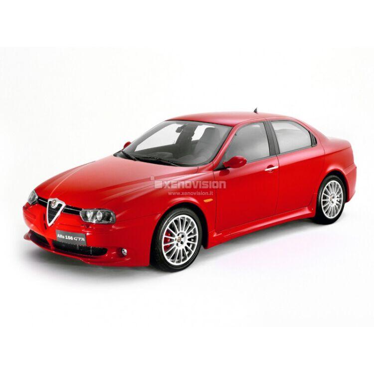 <p>Kit Alfa Romeo 156 dal 1999 al 2005 TOTAL, conversione totale a Led per Alfa Romeo 156 dal 1999 al 2005. Zero spie, Altissima Qualit&agrave;. Luce Bianco Lunare 6000k su ogni  principale punto luce interno ed i principali esterni. </p>