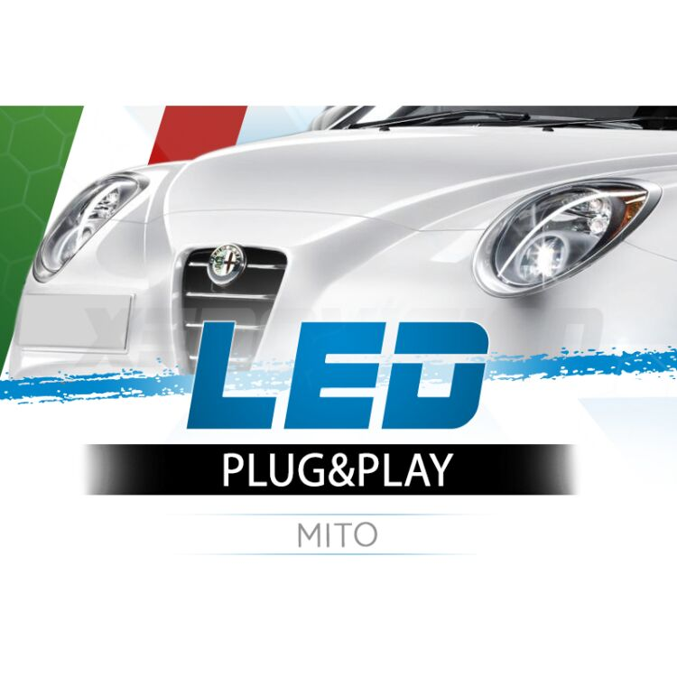 <p>The Best LED Headlights Kit for your Mito Low Beams. Guaranteed.</p>