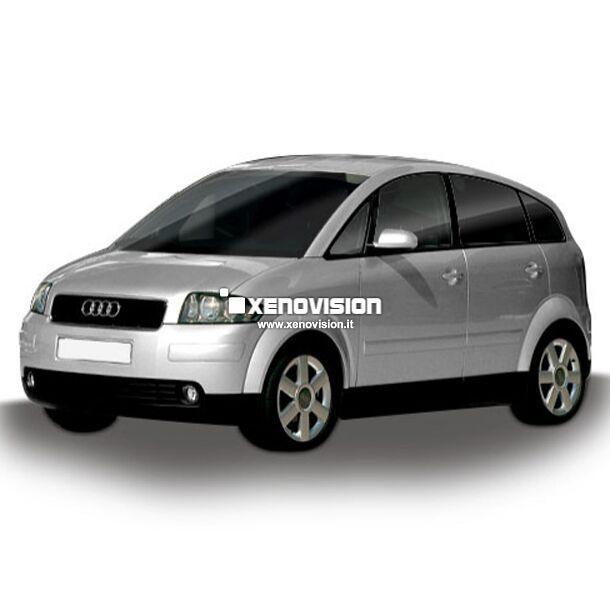 <p>Kit Audi A2 dal 2000 al 2005 FULL, conversione a Led per Audi A2 dal 2000 al 2005. Zero spie, Altissima Qualit&agrave;. Luce Bianco Lunare 6000k su ogni  principale punto luce interno. </p>