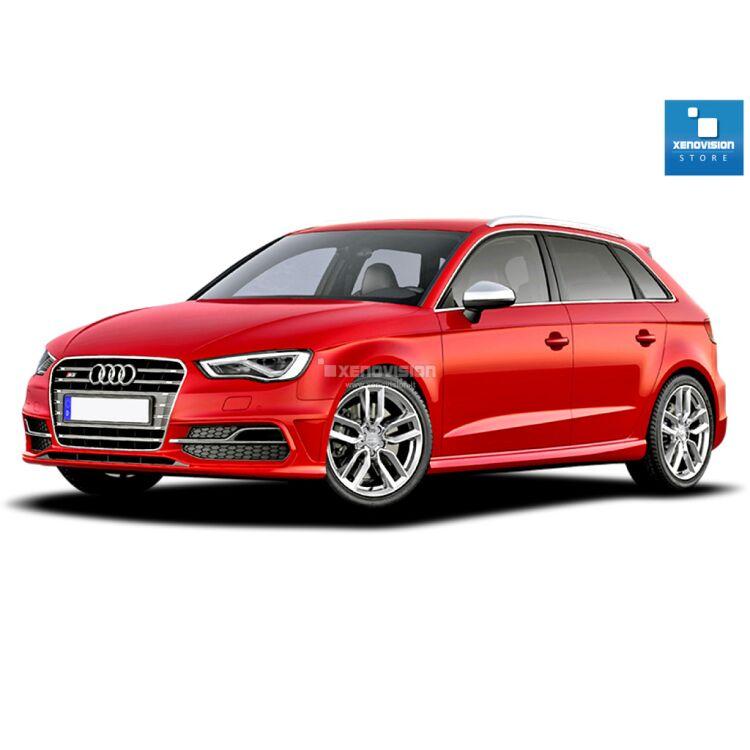 <p>Kit Led Audi A3 (8V) dal 2012 in poi FULL, conversione a Led per Audi A3 (8V) dal 2012 in poi. Zero spie, Altissima Qualit&agrave;. Luce Bianco Lunare 6000k.</p>