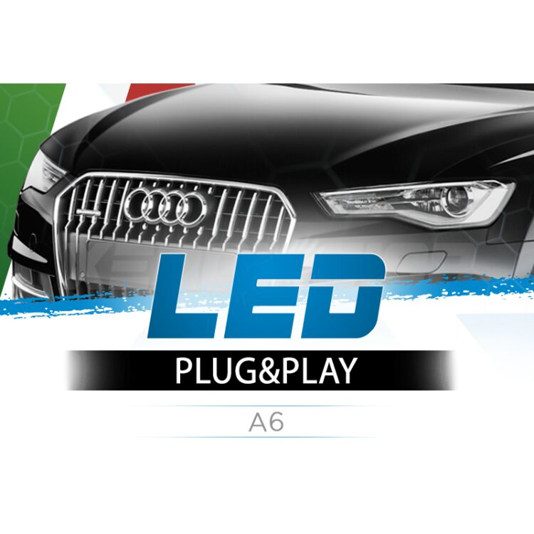 <p>The Best LED Headlights Kit for your Audi A6 Low Beams. Guaranteed.</p>