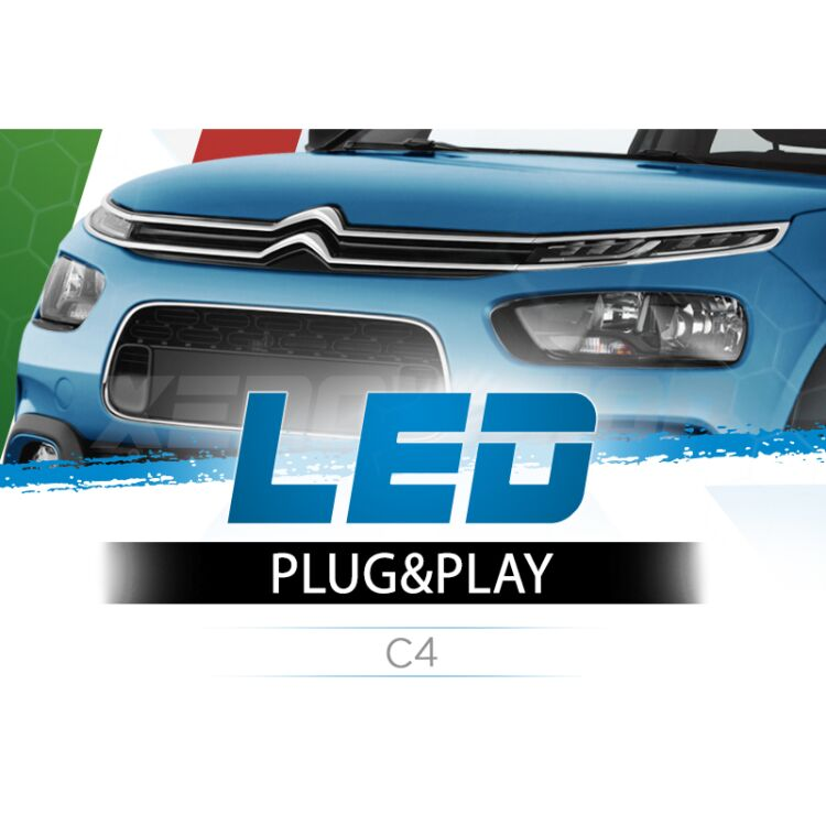 <p>The Best LED Headlights Kit for your Citroen C4 Low Beams. Guaranteed.</p>
