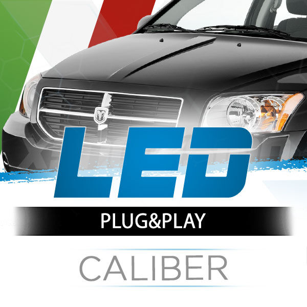 <p>The Best LED Headlights Kit for your Dodge Caliber&nbsp; Low and High Beams. Guaranteed.</p>