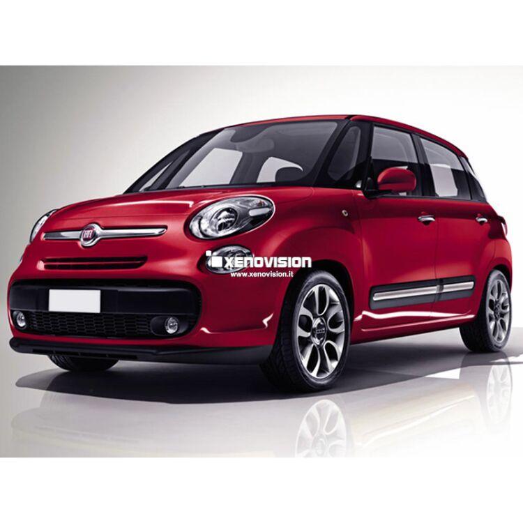 <p>Kit Led Fiat 500 L, conversione Full a Led. Zero spie, Altissima Qualit&agrave;. Luce Bianco Lunare 6000k su ogni punto luce bianco interno ed esterno&nbsp;e luminosissime luci Posizione/Stop a Led.</p>