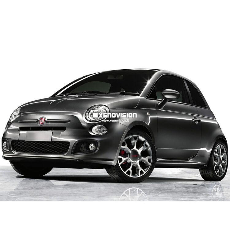 <p>Kit Led Fiat 500 S dal 2013 in poi, conversione Full a Led. Zero spie, Altissima Qualit&agrave;. Luce Bianco Lunare 6000k su ogni punto luce bianco interno ed esterno&nbsp;e luminosissime luci Posizione/Stop a Led.</p>