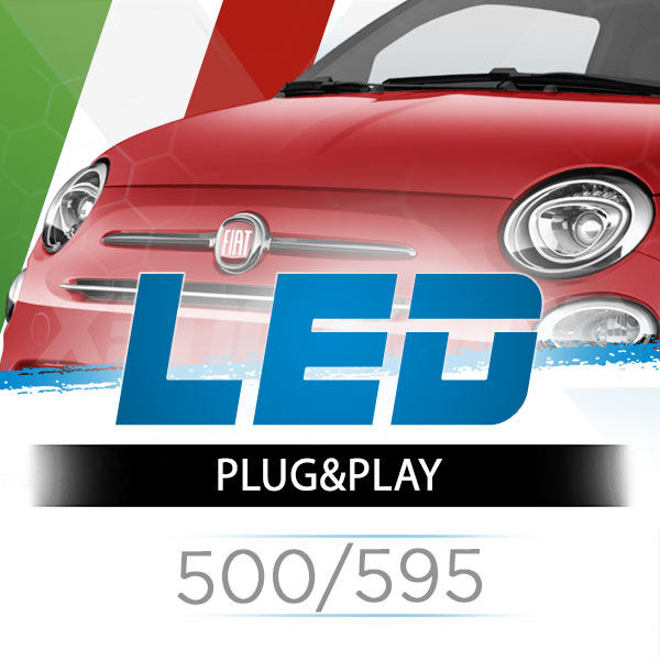 <p>The Best LED Headlights Kit for your 500/595. Guaranteed.</p>