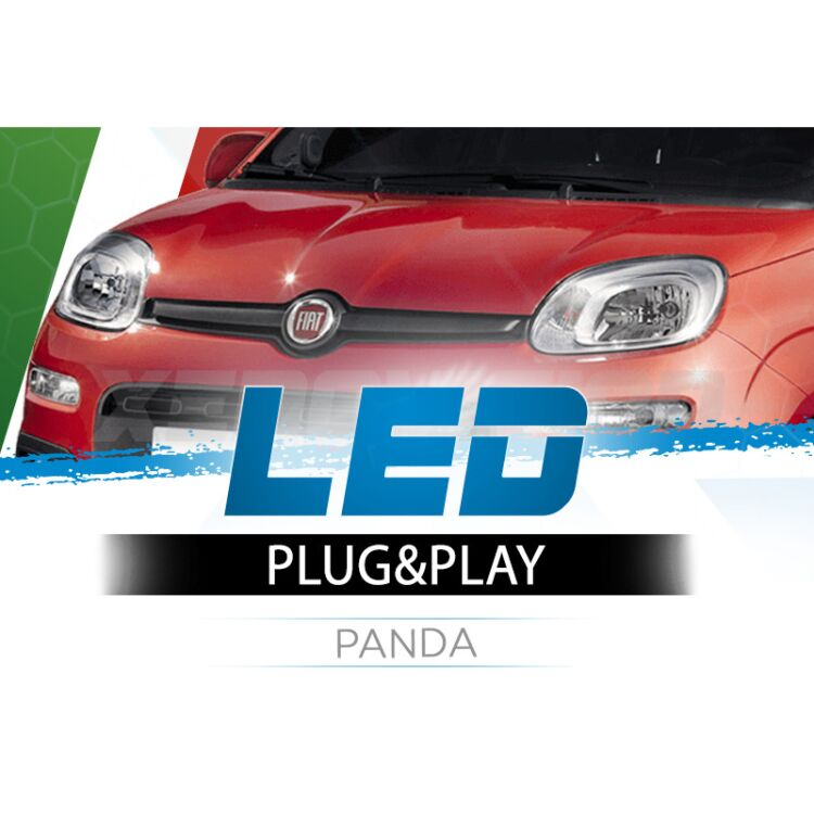 <p>The Best LED Headlights Kit for your Fiat Panda Low and High Beams. Guaranteed.</p>