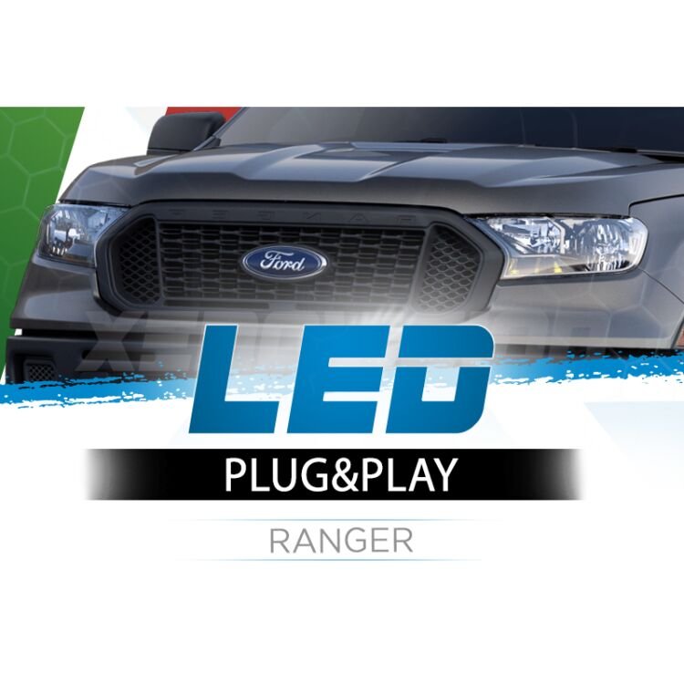 <p>The Best LED Headlights Kit for your Ford Ranger Low Beams. Guaranteed.</p>