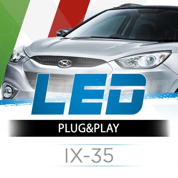 <p>The Best LED Headlights Kit for your Hyundai IX35 Low and High Beams. Guaranteed.</p>