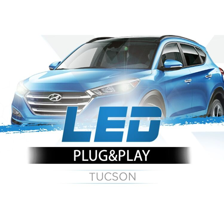 <p>The Best LED Headlights Kit for your Tucson Low Beams. Guaranteed.</p>
