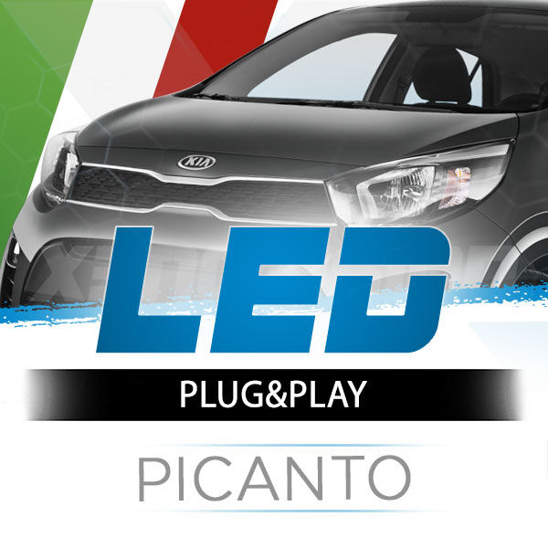 <p>The Best LED Headlights Kit for your Kia Picanto&nbsp; Low and High Beams. Guaranteed.</p>