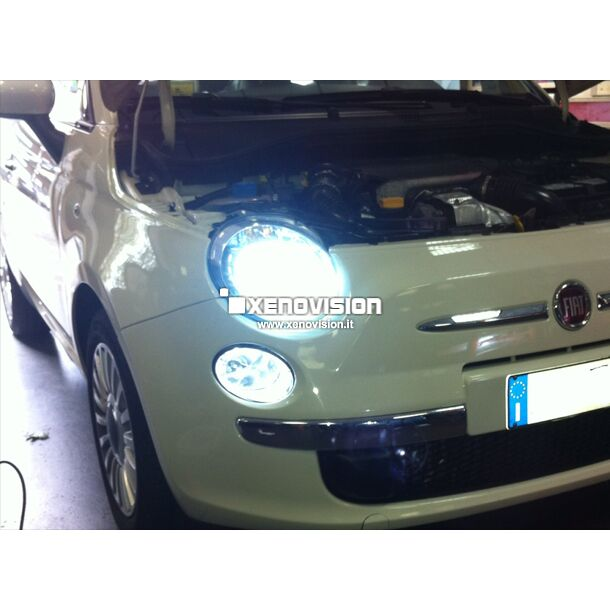 <p>&nbsp;</p> <p>Plug&amp;Play DRL kit for Alfa MiTo and many Fiat . Easy to install, ultra-bright and zero errors.</p>