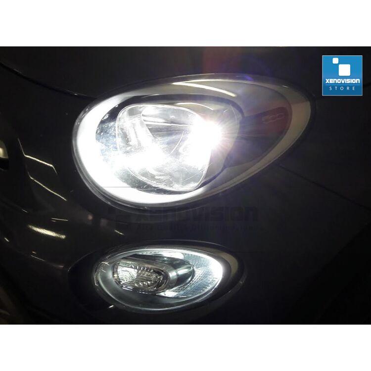 <p><strong>Ultraluminoso e Zero Spie. </strong>Kit DRL per Fiat 500X. Facile da installare, Ultraluminoso 800Lumen per lampadina, zero spie.</p>