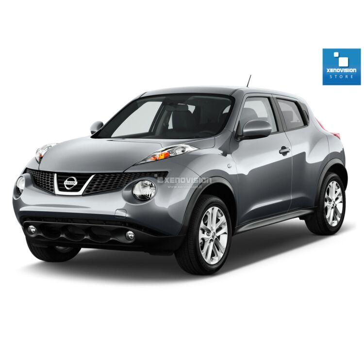 <p>Kit Led Nissan Juke dal 2010 al 2013, conversione totale a Led per Nissan Juke dal 2010 al 2013. Zero Spie, Top Quality, Bianco Lunare 6000k </p>