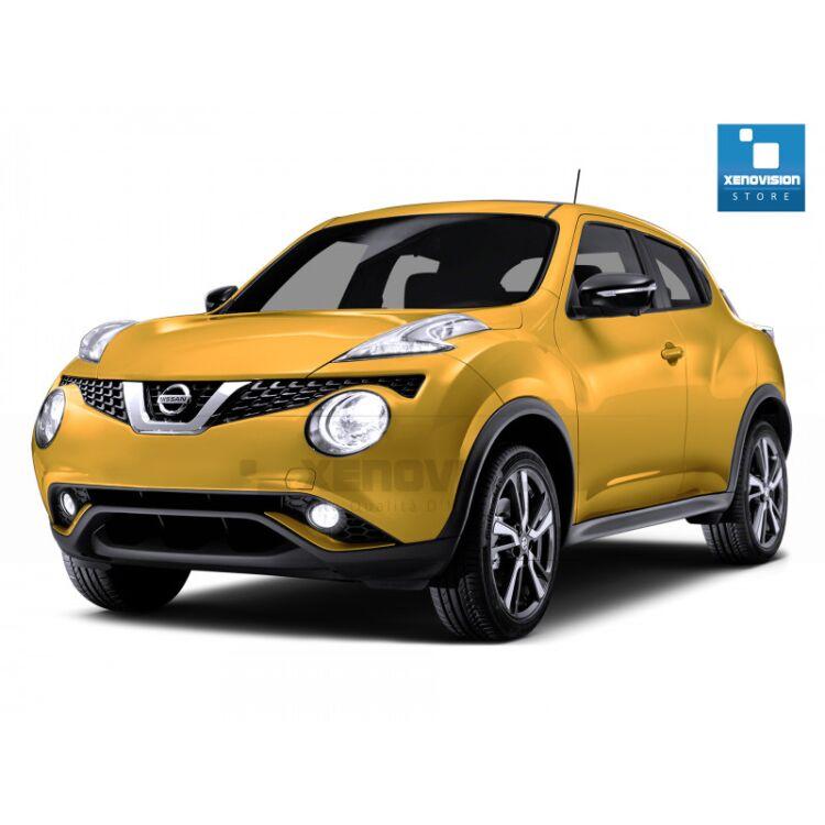 <p>Kit Led Nissan Juke Restyling dal 2014 in poi, TOTAL, conversione totale per Nissan Juke Restyling dal 2014 in poi. Pacchetto completo di altissima qualit&agrave; e risultato garantito. </p>