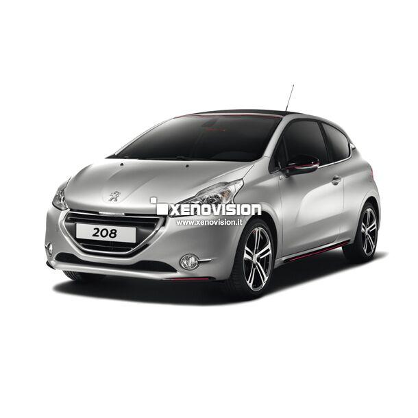 <p>Kit Led Peugeot 208 dal 2012 in poi, TOTAL, conversione totale per Peugeot 208 dal 2012 in poi. Pacchetto completo di altissima qualit&agrave; e risultato garantito. </p>