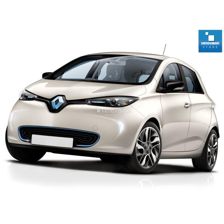 <p>Kit Renault Zoe dal 2013 in poi FULL, conversione totale a Led per Renault Zoe dal 2013 in poi. Zero spie, Altissima Qualit&agrave;. Luce Bianco Lunare 6000k su ogni  principale punto luce interno ed i principali esterni. </p>