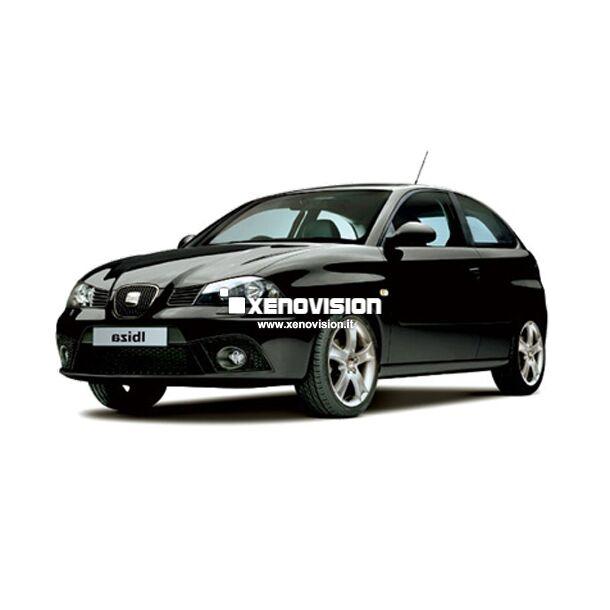 <p>Kit Led Seat Ibiza 2002-2008 Full, conversione totale a Led per Seat Ibiza. Zero spie, Altissima Qualit&agrave;. Luce Bianco Lunare 6000k su ogni punto luce interno ed i principali esterni. </p>