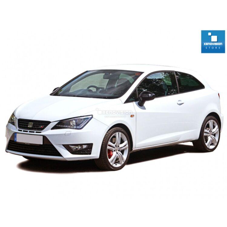 <p>Kit Led Seat Ibiza V FULL, conversione totale a Led per Seat Ibiza V. Zero Spie, Top Quality, Bianco Lunare 6000k </p>