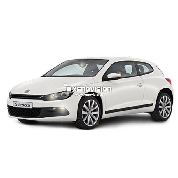 Kit Led Canbus specifico per <strong>Volkswagen Scirocco</strong> con luci posizione e targa - Top Quality - Massima visibilit&agrave; e durata nel tempo garantita. Zero errori sul cruscotto.