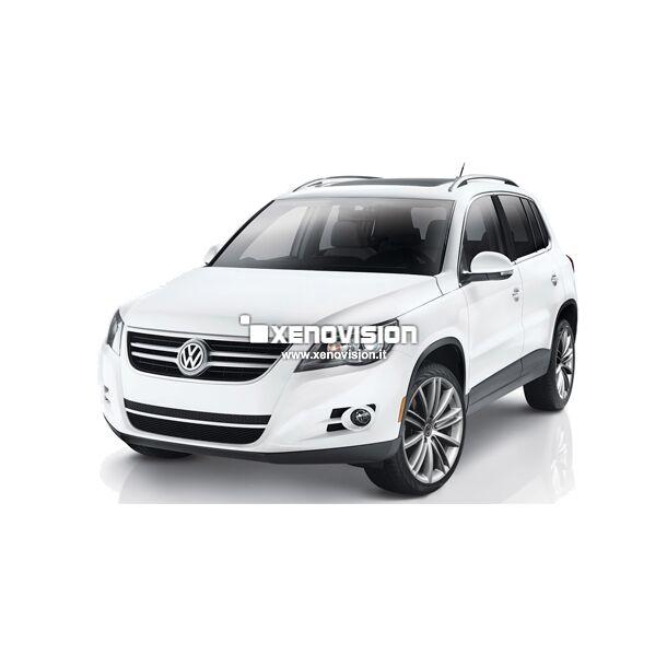 <p>Kit Led &nbsp;VW Tiguan 2010 Base, conversione a Led per VW Tiguan 2010. Zero spie, Altissima Qualit&agrave;. Luce Bianco Lunare 6000k.</p>