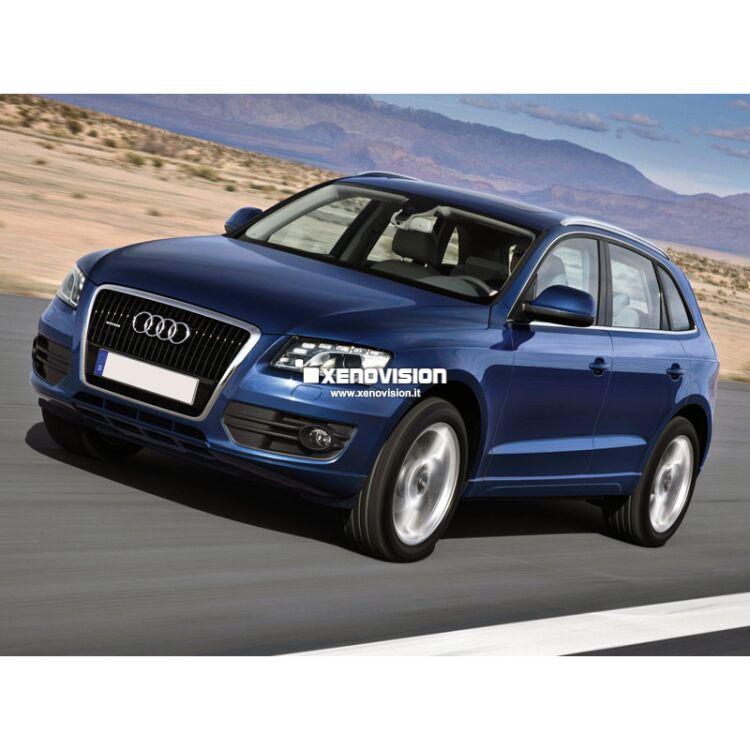 <p>Kit Xenon Focus Pro Korea 35W specifico per il faro della Audi Q5 dal 2008 al 2012. Plug&amp;Play zero spie, contiene tutto l'occorrente. Luce Bianco Lunare 6100k.</p>