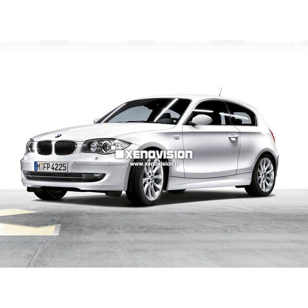 <p>Kit Focus Pro Korea Xenon 35W specifico per il faro della BMW Serie 1 E81 2008-2011. Plug&amp;Play zero spie, contiene tutto l'occorrente. Luce Bianco Lunare 6000k.</p> <p>&nbsp;</p>