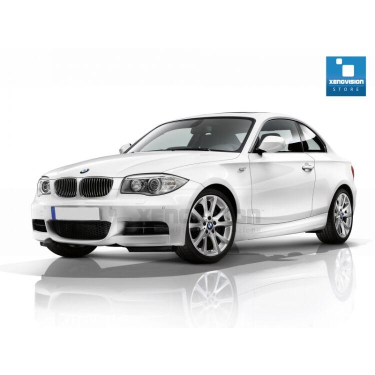 <p>Kit Focus Pro Korea Xenon 35W specifico per il faro della BMW Serie 1 E82 fino a 2011 e Angel Eyes di 20W in tinta. Plug&amp;Play zero spie, contiene tutto l'occorrente. Luce Bianco Lunare 5300k.</p> <p>&nbsp;</p>