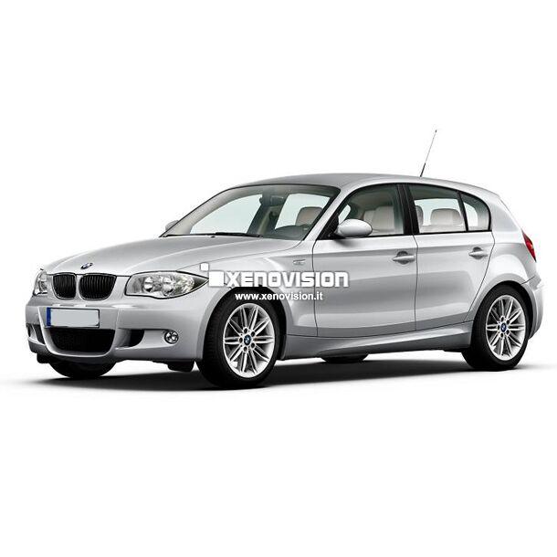 <p>Kit Focus Pro Korea Xenon 35W specifico per il faro della BMW Serie 1 E87 dal 2004 al 2011 e Luci posizione a Led in tinta. Plug&amp;Play zero spie, contiene tutto l&#39;occorrente. Luce Bianco Solare 5300k.</p><p>&nbsp;</p>