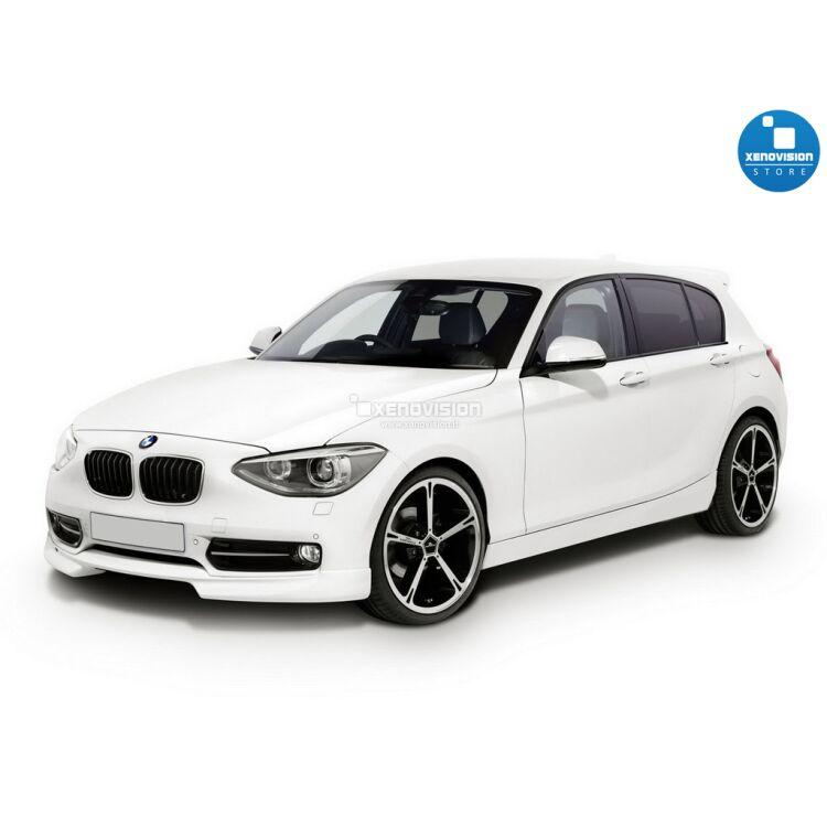<p>Kit Focus Pro Korea Xenon 35W specifico per il faro della BMW Serie 1 F20 dal 2011 in poi. Plug&amp;Play zero spie, contiene tutto l&#39;occorrente. Luce Bianco Solare 6100k.</p><p>&nbsp;</p>