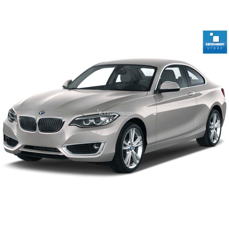 <p>Kit Focus Pro Korea Xenon 35W specifico per il faro della BMW Serie 2 F22 dal 2014 in poi. Plug&amp;Play zero spie, contiene tutto l&#39;occorrente. Luce Bianco Lunare 5300k.</p><p>&nbsp;</p>