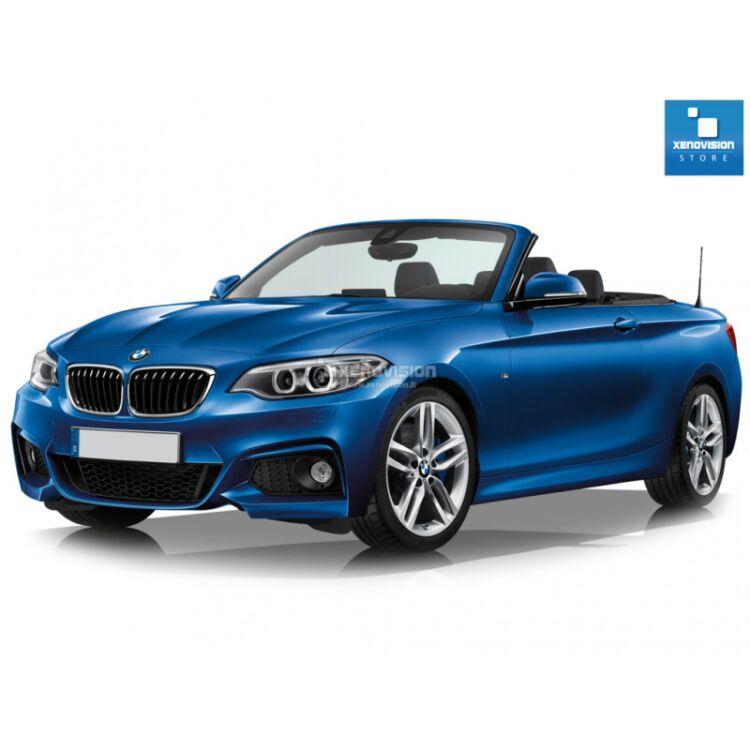 <p>Kit Focus Pro Korea Xenon 35W specifico per il faro della BMW Serie 2 F23 dal 2014 in poi. Plug&amp;Play zero spie, contiene tutto l&#39;occorrente. Luce Bianco Lunare 6100k.</p><p>&nbsp;</p>