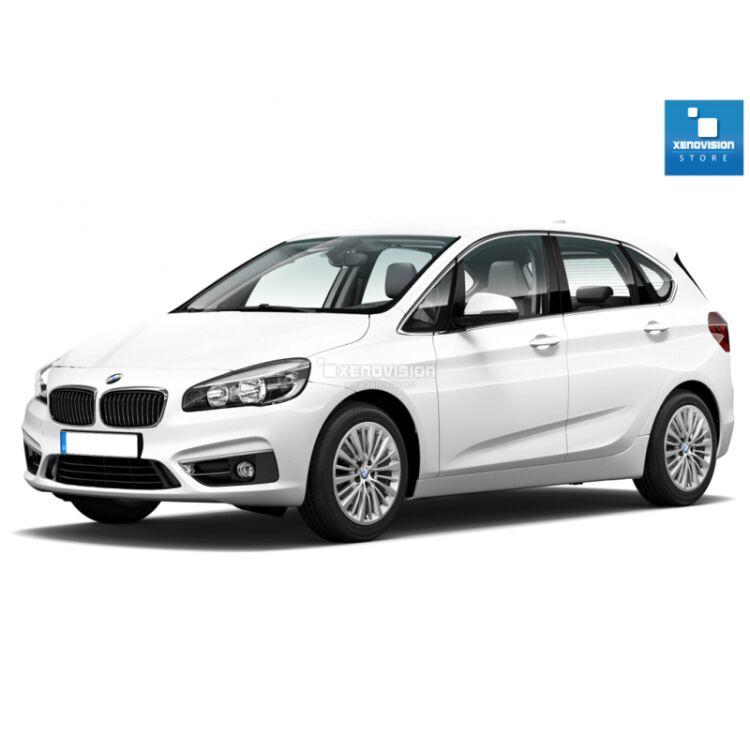 <p>Kit Focus Pro Korea Xenon 35W specifico per il faro della BMW Serie 2 F45 Active Tourer dal 2014 in poi. Plug&amp;Play zero spie, contiene tutto l&#39;occorrente. Luce Bianco Lunare 6100k.</p><p>&nbsp;</p>