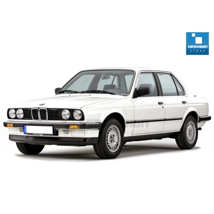 <p>Kit Focus Pro Korea Xenon 35W specifico per il faro della BMW Serie 3 E30 e Luci Posizione a Led in tinta. Plug&amp;Play zero spie, contiene tutto l&#39;occorrente. Luce Bianco Caldo 4300k.</p><p>&nbsp;</p>
