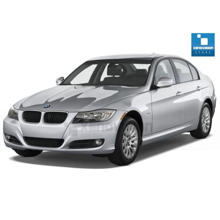 Kit Xenon 35W specifico per il faro a parabola della BMW E90 dal 2005 al 2013. Plug&Play zero spie, contiene tutto l'occorrente. Luce Bianco Solare 5000k.