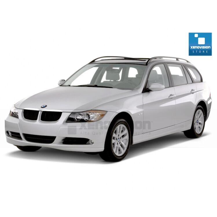 Kit Xenon 35W specifico per il faro della BMW E91 dal 2005 al 2013. Plug&Play zero spie, contiene tutto l'occorrente. Luce Bianco Solare 5300k.