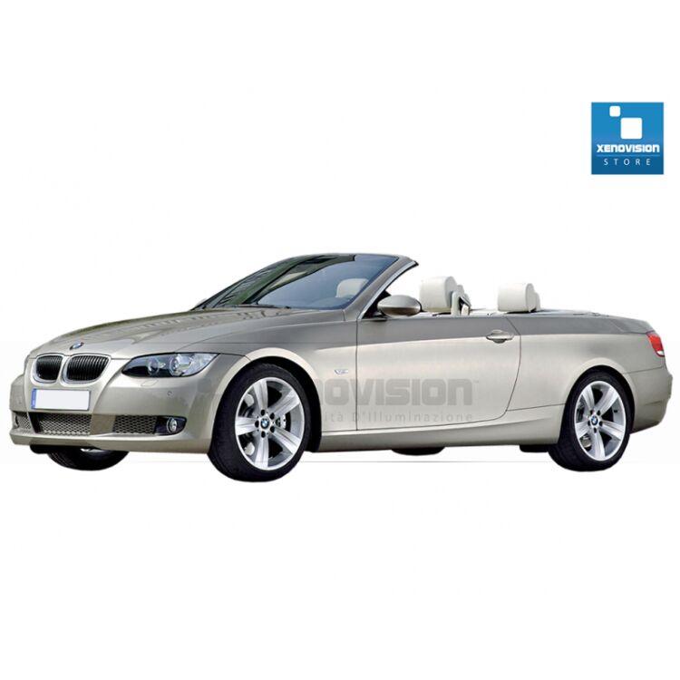 Kit Xenon 35W specifico per il faro della BMW E93 dal 2005 al 2013. Plug&Play zero spie, contiene tutto l'occorrente. Luce Bianco Lunare 6100k.