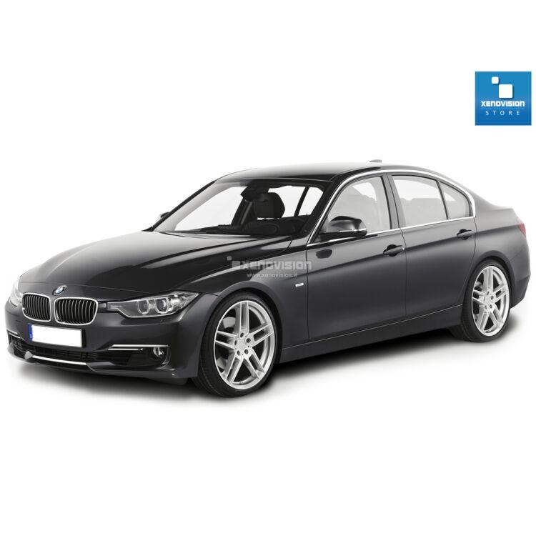 <p>Kit Focus Pro Korea Xenon 35W specifico per il faro della BMW Serie 3 F30 dal 2011 in poi. Plug&amp;Play zero spie, contiene tutto l&#39;occorrente. Luce Bianco Lunare 6100k.</p><p>&nbsp;</p>